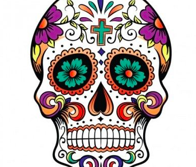 Tattoo teschio messicano in quale parte del corpo farlo for Disegni portico messicano