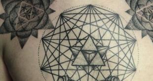 ttuaggi geometrici