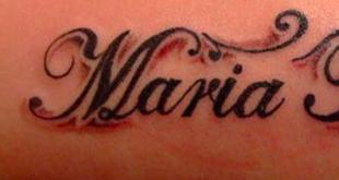 tatuaggio nome figli