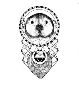 tatuaggio lontra
