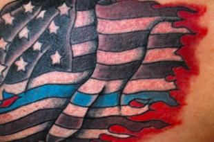 tatuaggio bandiera