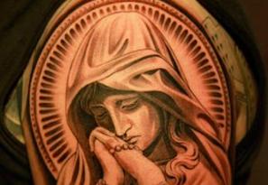 tatuaggio madonna