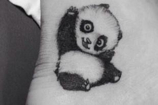 tatuaggio panda
