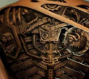 tatuaggio steampunk