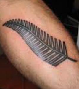 tatuaggio felce