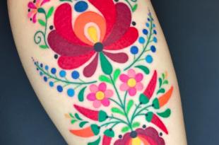 tatuaggio ricamo