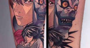 manga tattoo
