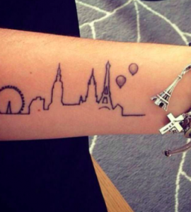 skyline tattoo