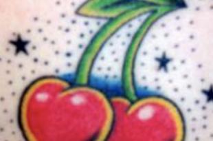 tatuaggio ciliegia