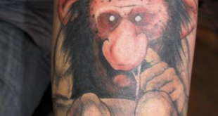 troll tattoo