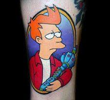 fry tattoo