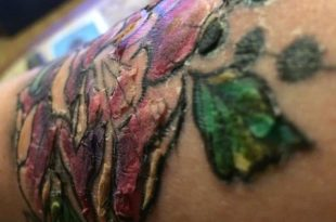 croste tatuaggio non vanno via