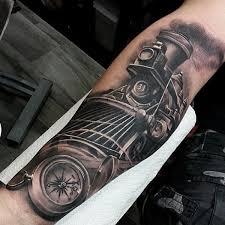 tatuaggio treno