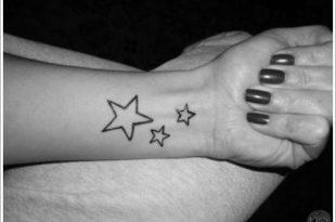 Stella cadente, il tattoo