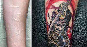 Cover up su tattoo rovinati