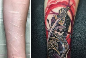 Cover up su tattoo rovinati