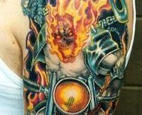I temi tipici dei tattoo dei rider