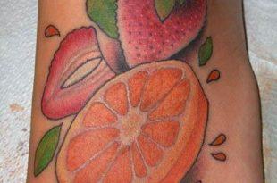 Idee e significato del tattoo arancia