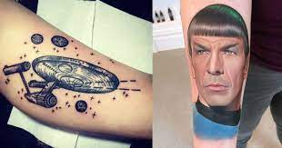tatuaggi star trek