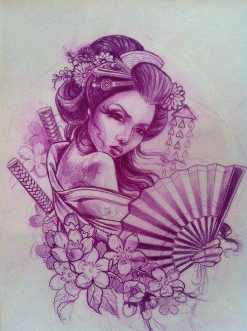 Molto Tatuaggio Geisha: Significato, Gallery e Prezzo - PassioneTattoo ML69
