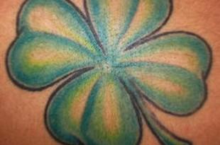 quadrifoglio tattoo