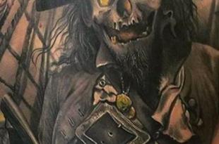 tatuaggio pirata