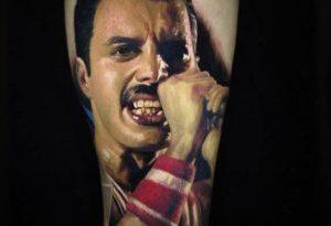 tattoo freddie mercury
