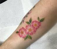 rosa canina tattoo1