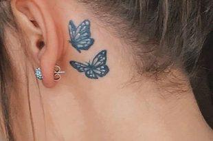 Consigli per un tatuaggio piccolo e discreto dietro l'orecchio