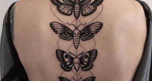 falena tattoo